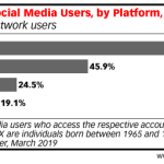 Chart: Gen X Social Media Use By Platform