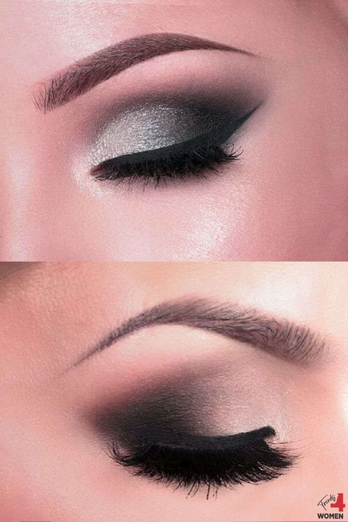 dramatic smokey eye makeup designs | trends for women