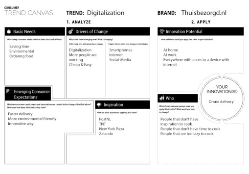 trend canvas-b&w