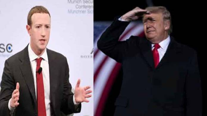 Facebook and Instagram CEO Mark Zuckerberg Announces Trump Banned