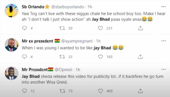 Jay Bhad reply