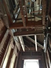 Welcome to 3 floors of plumbing.
