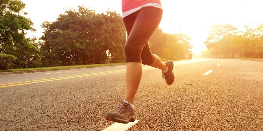 walks and runs for body fitness