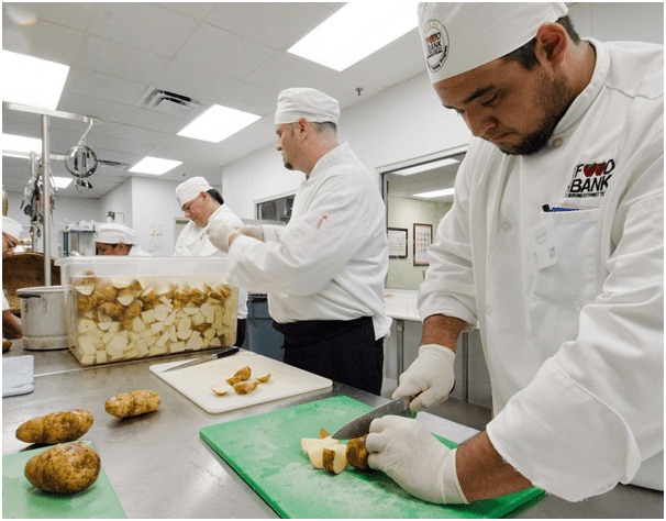Catering industry equipment skills