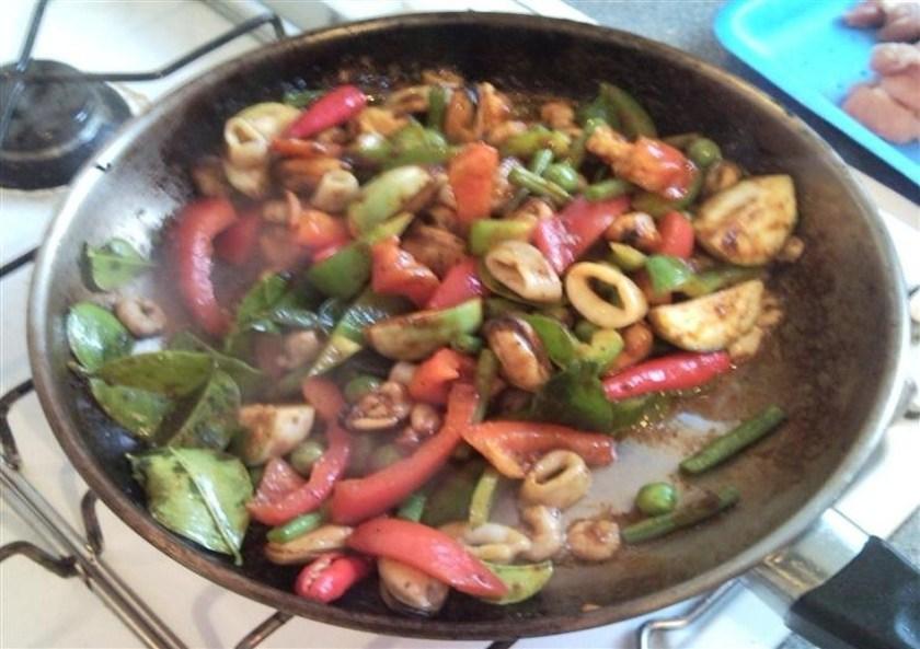 Thai Chili Paste Stir Fry