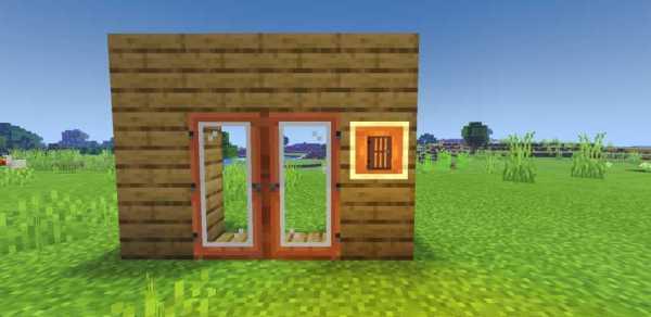 Acacia door Minecraft