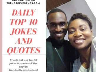 Daily Top 10 Jokes & Quotes