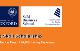 The Skoll Scholarships University of Oxford UK