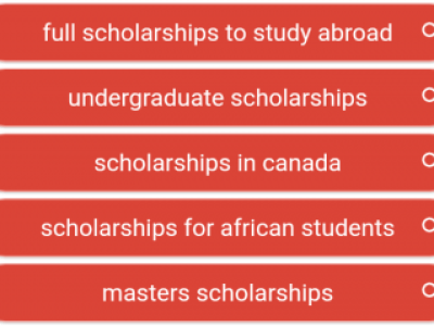Full Scholarships To Study Abroad, Undergraduate Scholarships, Scholarships in Canada, and Scholarships for African Students