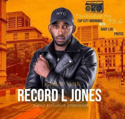 Record L Jones Tshwane FM Mix Mp3 Download