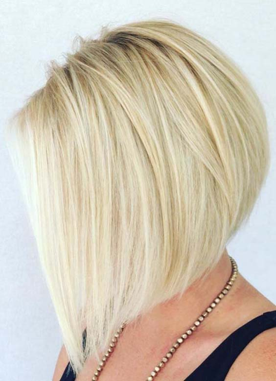 A-Line Bob Haircuts and Hairstyles for Women in 2020