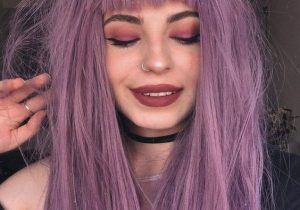 Most Alluring Purple Hair Highlights to Copy In 2020