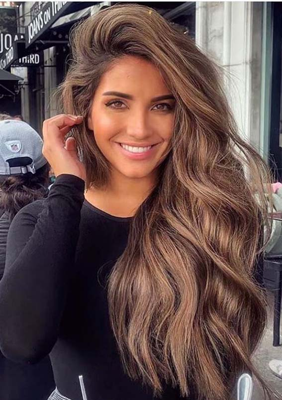 Amazing Side Swept Long Hairstyles to Follow in 2020