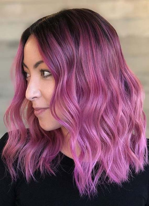 Fresh Pink Hair Color Shades to Follow in Current Year