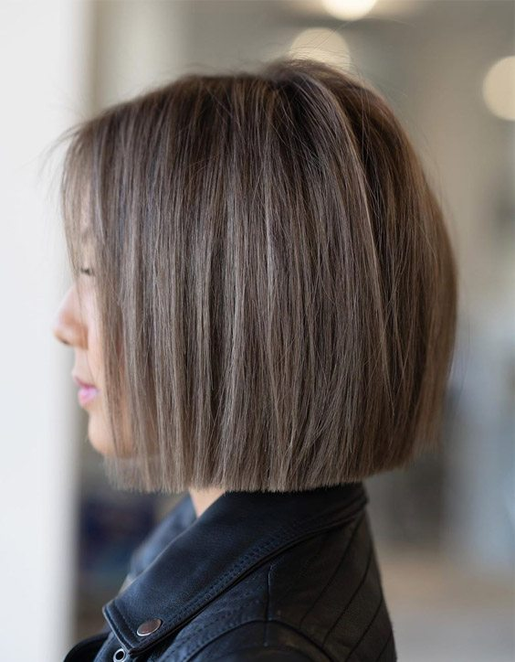 Fresh Style of One Length Bob Haircuts for 2020