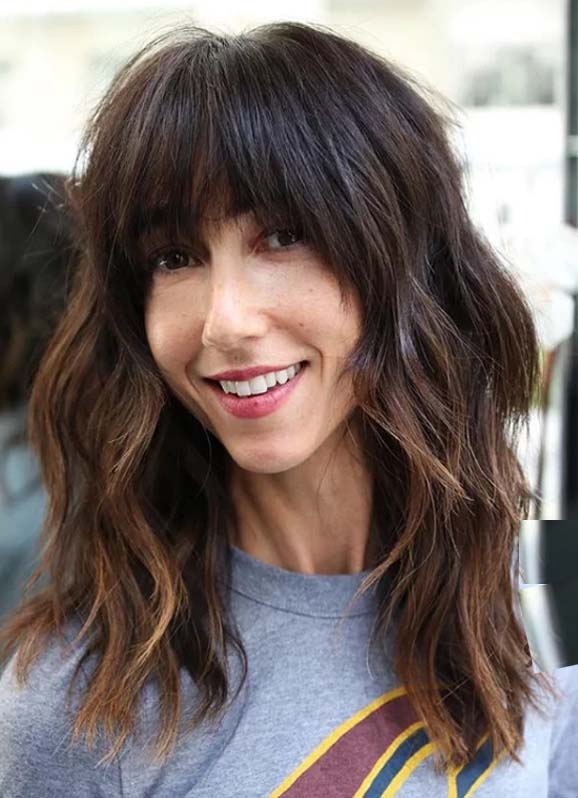 Long Hairstyles with Bangs for Women to Sport in 2020