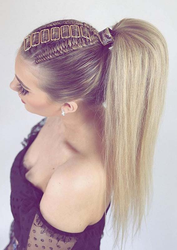 Best High Ponytail Hairstyles for Long Hair in 2020