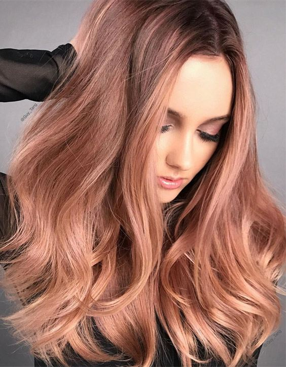 Delightful Style of Rose Gold Hair Color for 2020