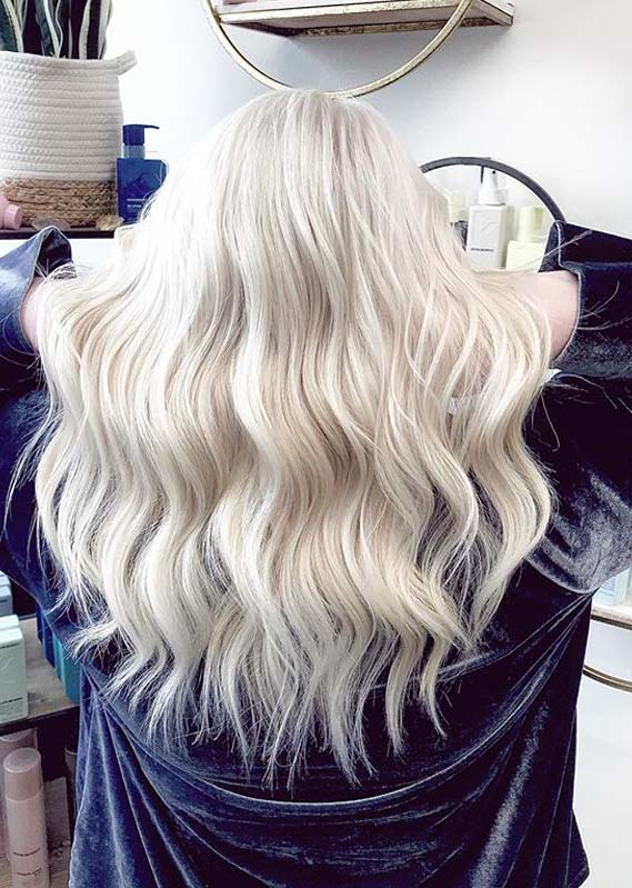 Fantastic Platinum Blonde Hair Color Shades to Show Off in 2020