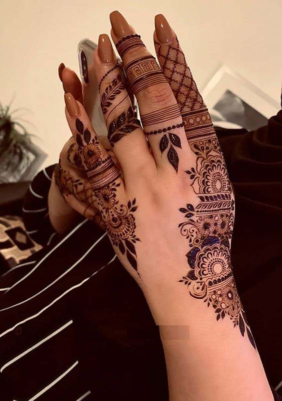 Latest Mehndi And Henna Designs For Girls To Wear In 2020