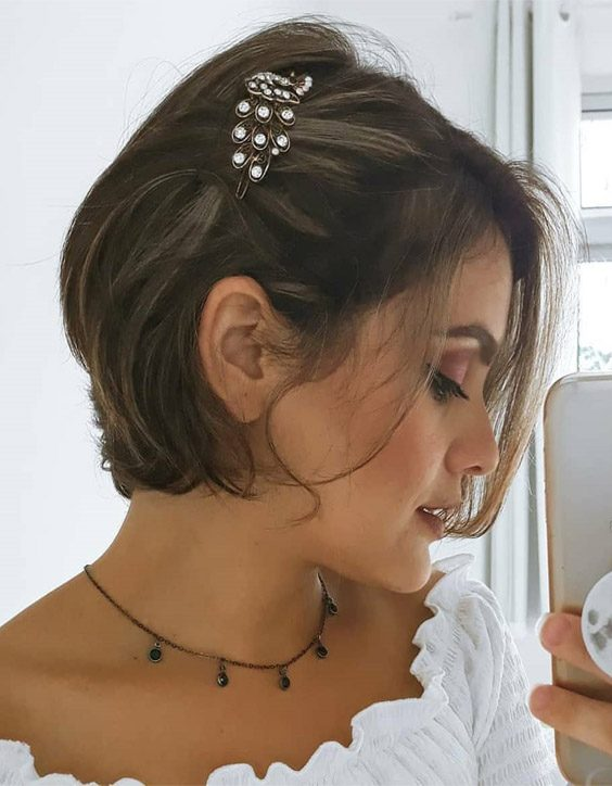 Lovely Short Haircut Style & Look for 2020