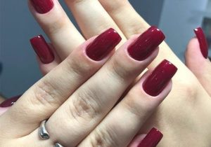 Charming Style of Red Nails for Young Girls to Copy Now