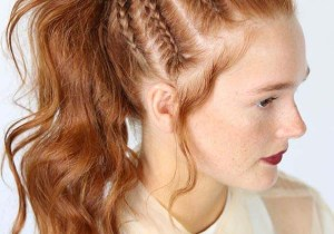 Fantastic High Pontail Style with Braids You Must Try in 2020
