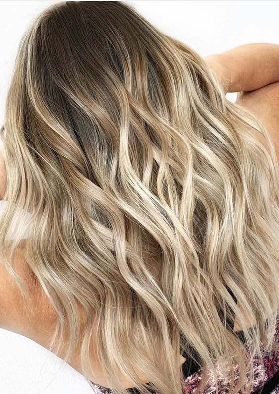 Fresh Beach Blonde Hairstyles for Long Hair to Sport in 2020