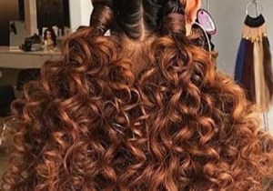 Big Curly Pigtail Hairstyles for Girls in Year 2020