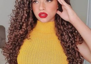 Gorgeous Long Curly Haircuts & Style for 2020