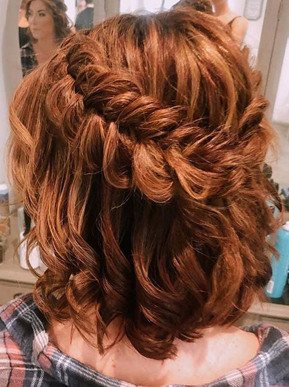 Medium Haircuts with Fishtail Braids You Must Sport Nowadays