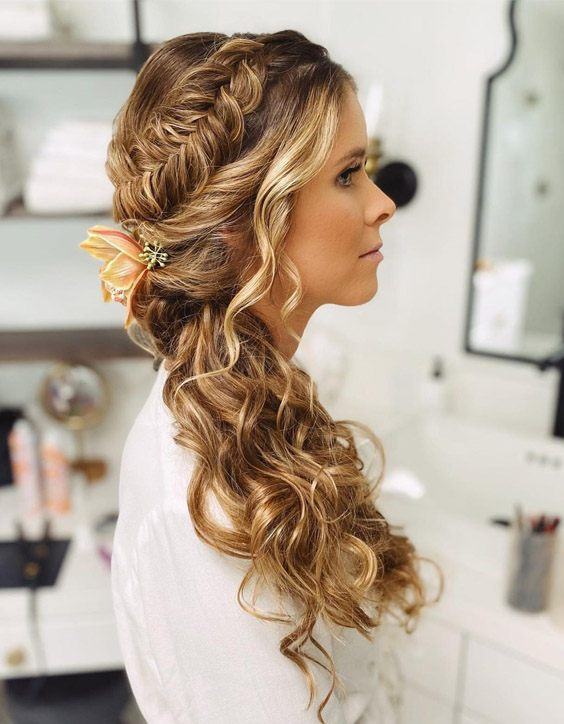 Unique Look of Braided Ponytail Hair Style for 2020