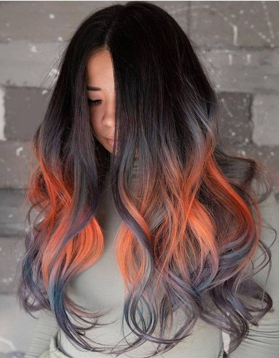 Fresh 2021 Hair Color Highlights for Stylish Girls