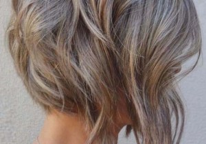 Gorgeous Ash Bronde Shades for Short Hair