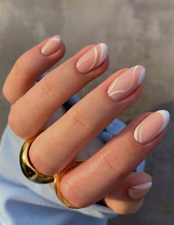 Modern Style & Shapes of 2021 Nail Ideas for Teenage Girls