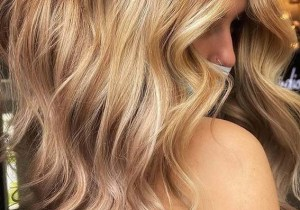 Stunning Golden Blonde Hair Color Shades