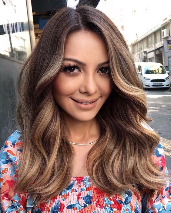 Super Cute Balayage Hair Color & Highlights in 2021