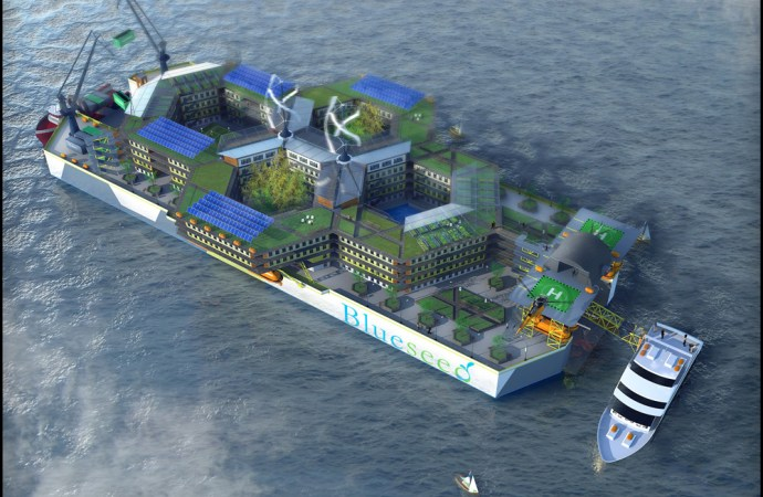 Blueseed – En startup metropol midt ude i havet