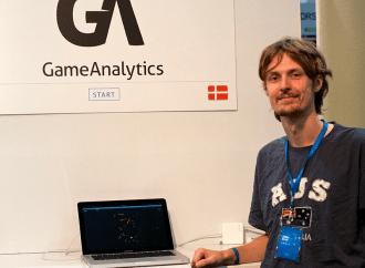 Interview med GameAnalytics på Websummit i Dublin
