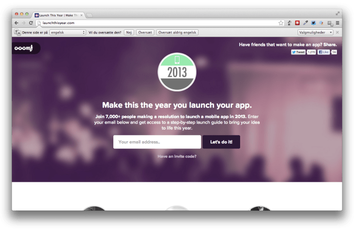 Launch This Year – lav en mobilapp i 2013