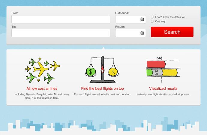 WhichAirline.dk – en visuel søgemaskine