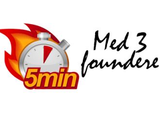 Fem minutter med tre foundere – Jacob Beckmann, Joachim Clemensen og Simon Taylor