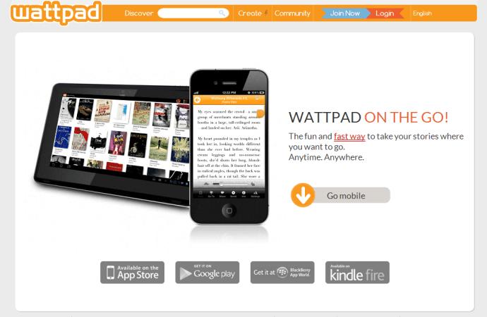 Wattpad – en ny form der skubber til forlagsbranchen