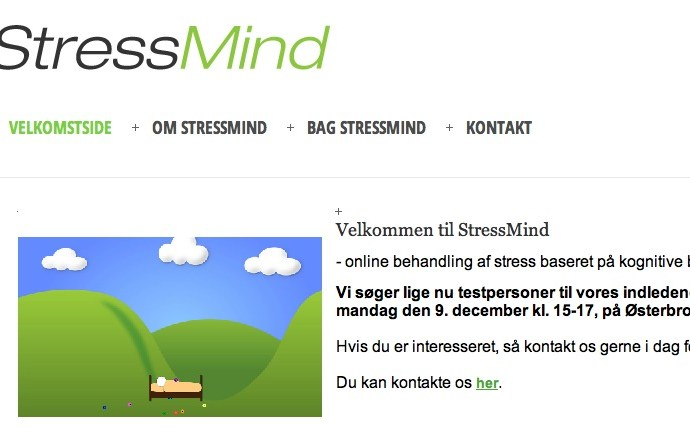 Fra praksis – til drøm – til StressMind