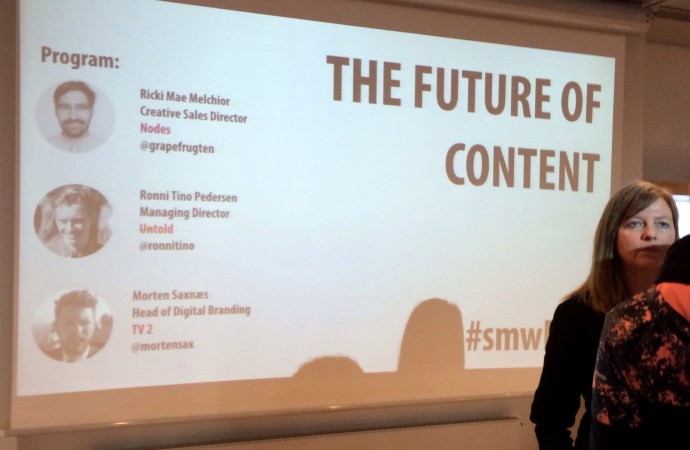 The Future of Content – #smwFOC