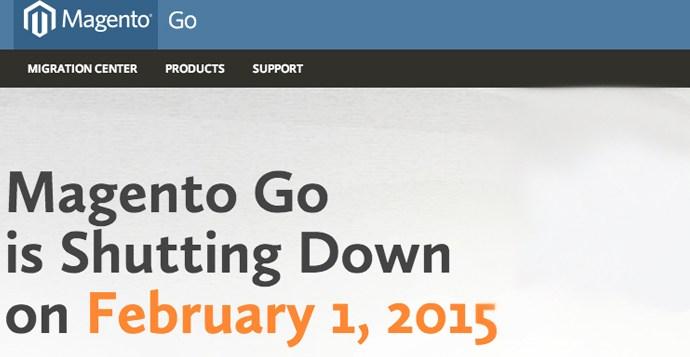 E-handels platformen Magento Go og Prostores lukker ned