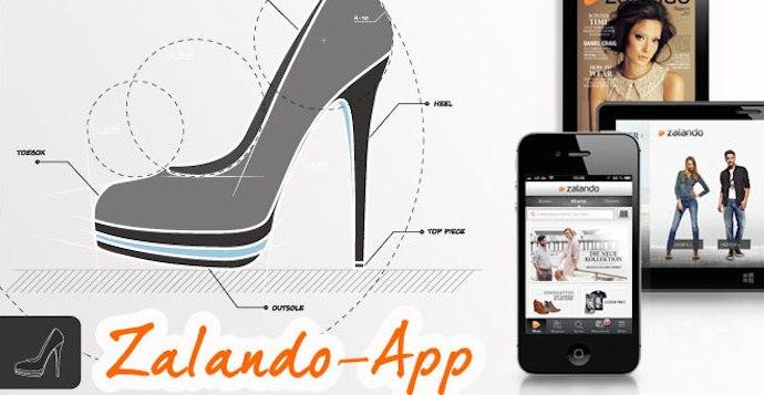 Zalando tester billedsøgning i mobil app