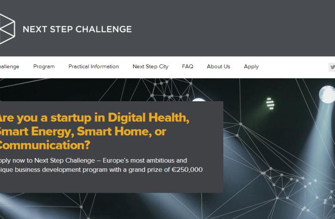 Vind €250.000 i Next Step Challenge programmet