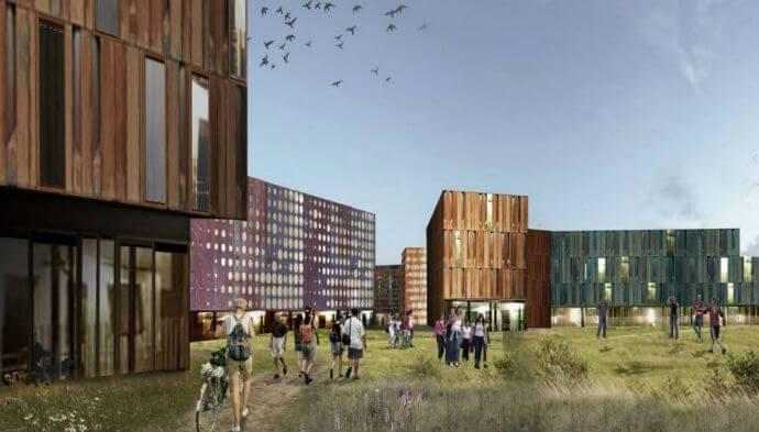Fra Paris til København: Danmark skal have international studenterby