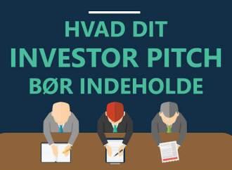 Guide: Sådan pitcher du til en investor